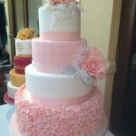 Peach Ruffles and Roses